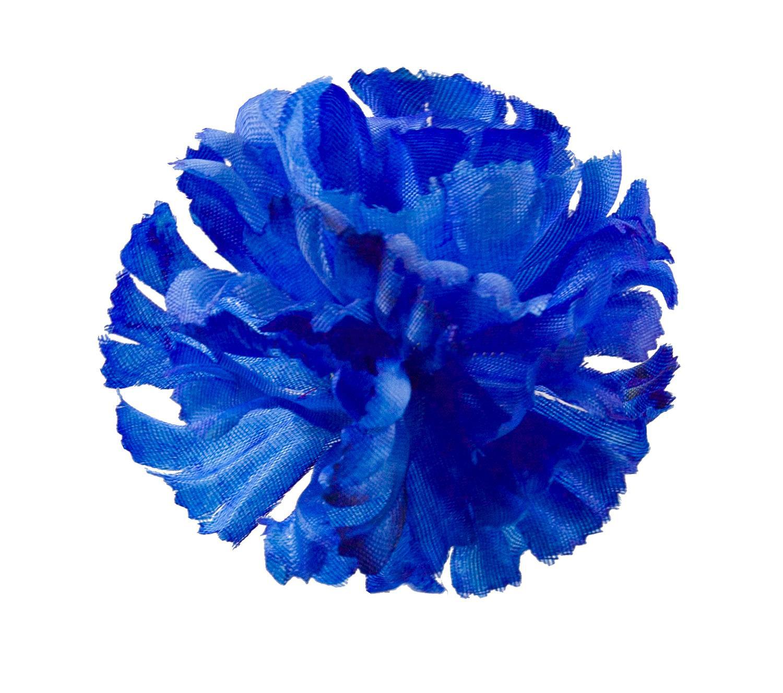 Гвоздика атлас d-10,5 см синий (1/100)