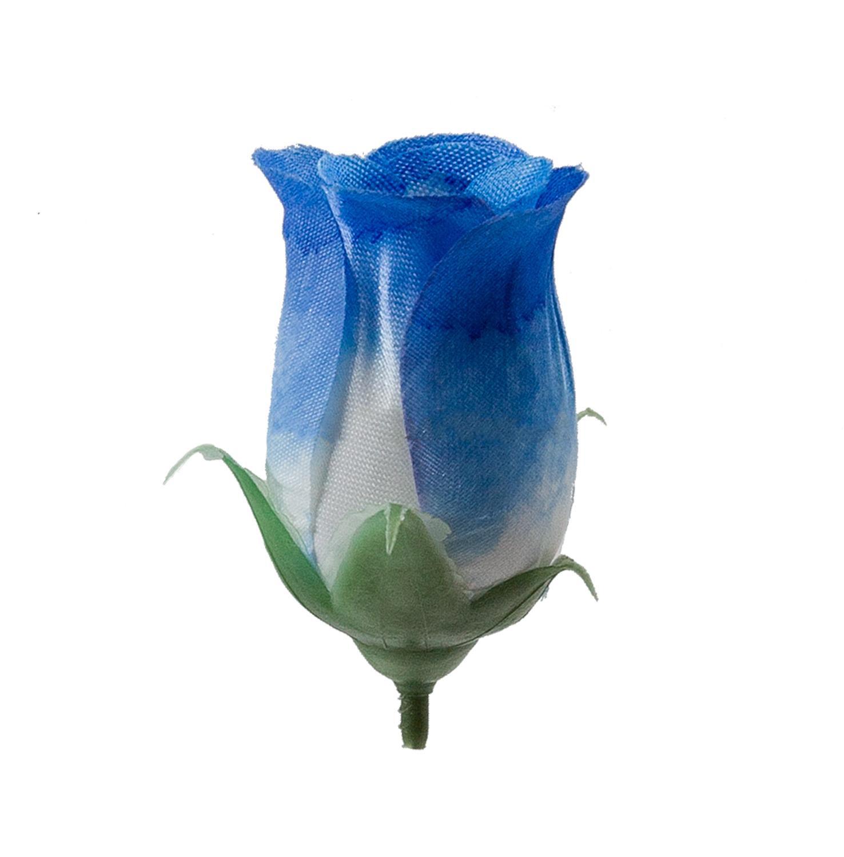 Роза бутон Акварель (1/100) синий