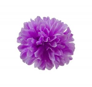 Хризантема шелк d-10 см фиолетовый (1/100)