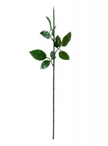 Ножка розы с листом 70 см