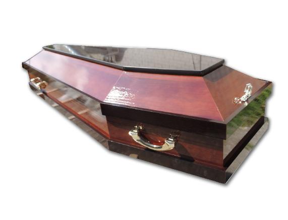 Гроб лакированный Модель №26, арт. ГЛ-М26